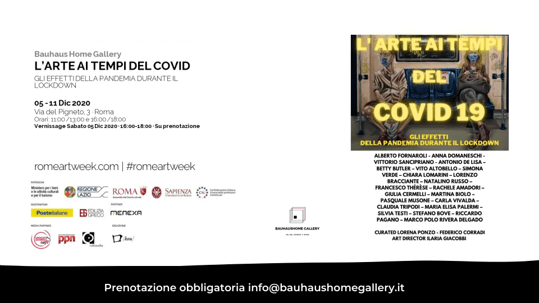 Exhibiting in Rome: Art in the Time of COVID